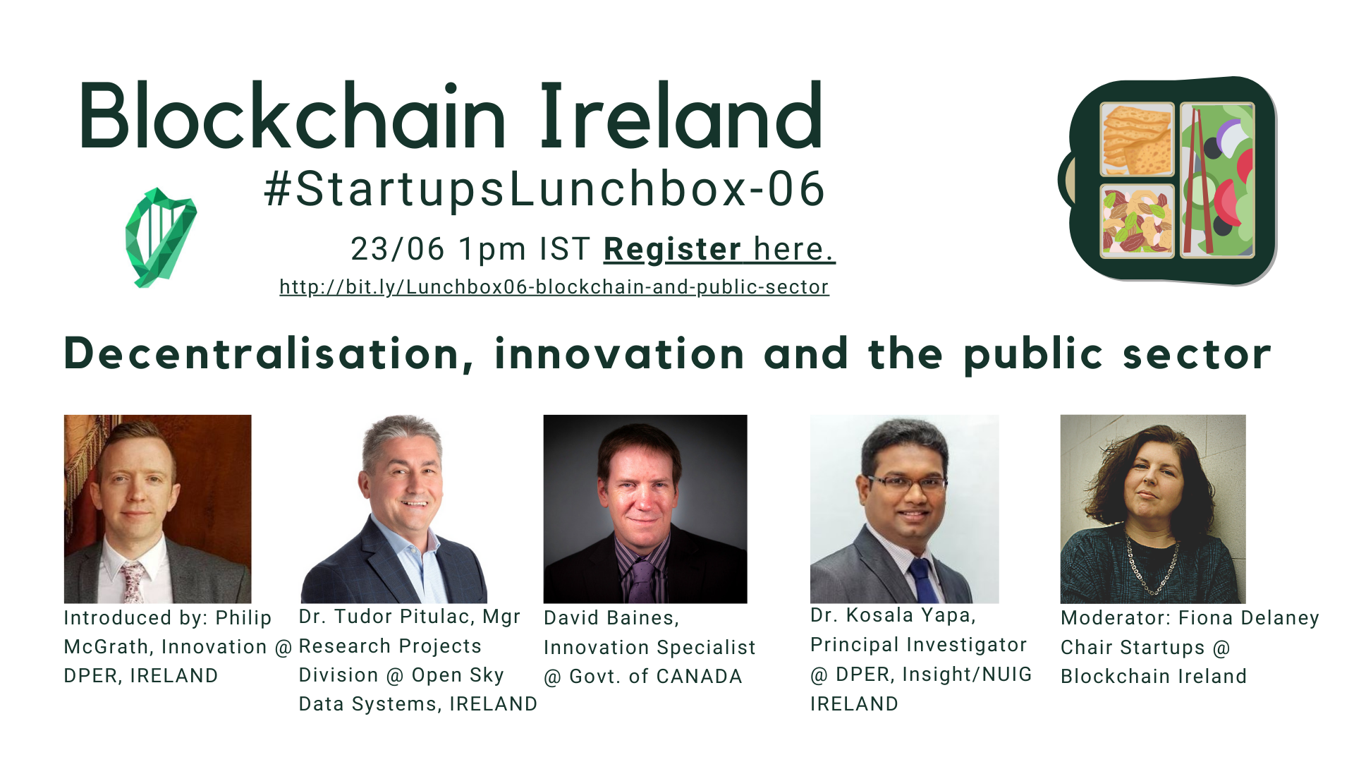 Blockchain Ireland and the Public Sector
